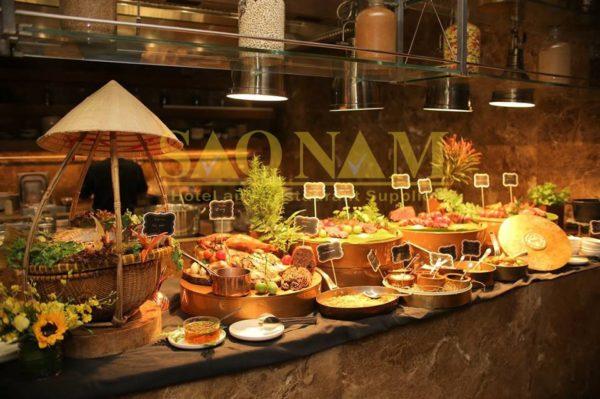 bóng đèn hâm nóng thức ăn tiệc buffet